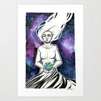 Mother Galxay  Art Print