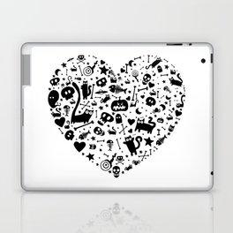 Halloween Heart Laptop & iPad Skin