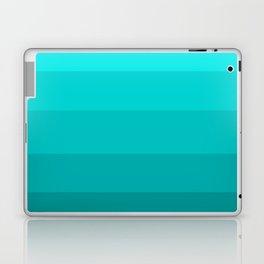 Dark Aqua Turquoise Jeweled Hues - Color Therapy Laptop & iPad Skin