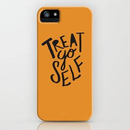 Halloween Treat Yo Self iPhone Case