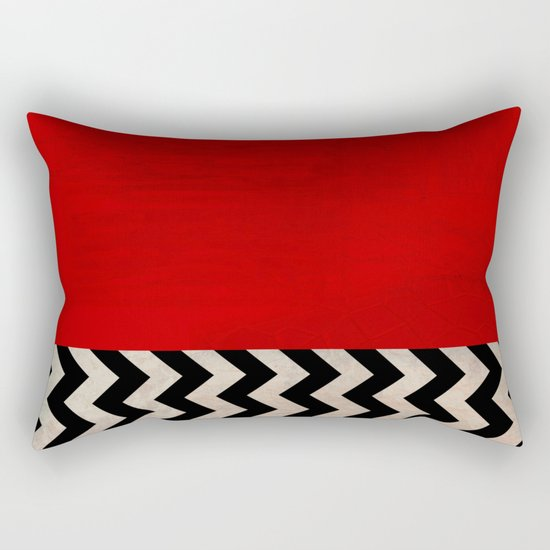 Twin Peaks - Red Room Rectangular Pillow