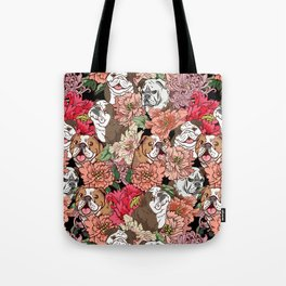 Because English Bulldog Tote Bag
