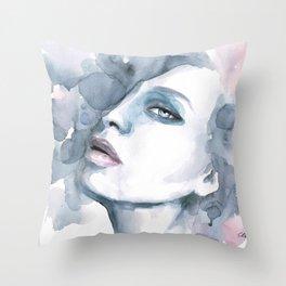 Stillhet (silence) Throw Pillow