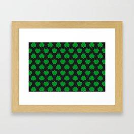 Shamrocks Framed Art Print
