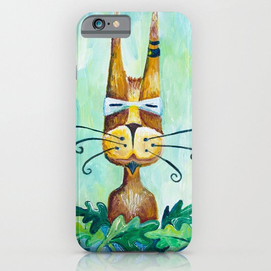 Roofus Whiskers The Cat iPhone & iPod Case