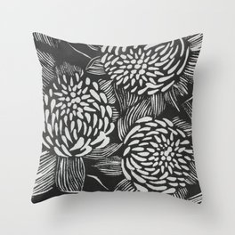 Waratahs Throw Pillow