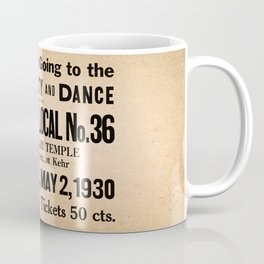 Party at the Plumbers Local No. 36 Coffee Mug