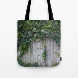 The Green Can Never Be Blocked Tote Bag
