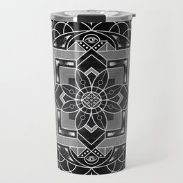 Composure Mandala Travel Mug