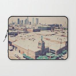 Urth Caffe. Los Angeles skyline photograph Laptop Sleeve