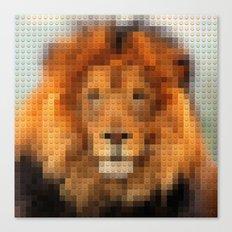 Lego Lion Canvas Print