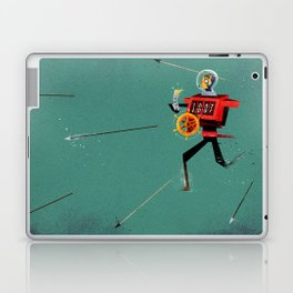 The Time Travelling Pirate Laptop & iPad Skin