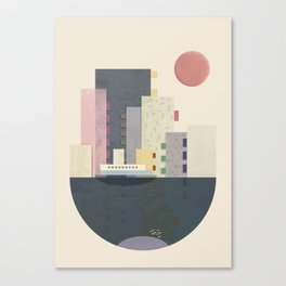 City on Earth Canvas Print