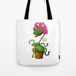 Cute carnivorous plant Tote Bag