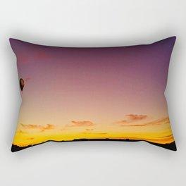 Ballon Sunset Rectangular Pillow