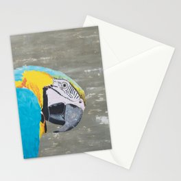 Oscar the Macaw Parrot Stationery Cards