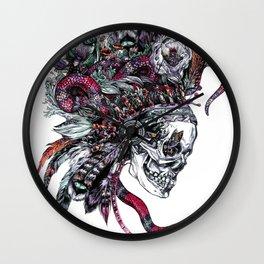 Death God Itzamna Wall Clock