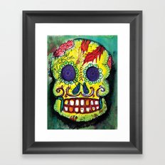 Spoiled Sugar Skull Framed Art Print