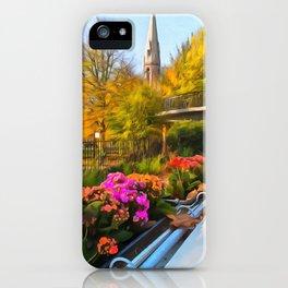Autumn In Little Venice London iPhone Case