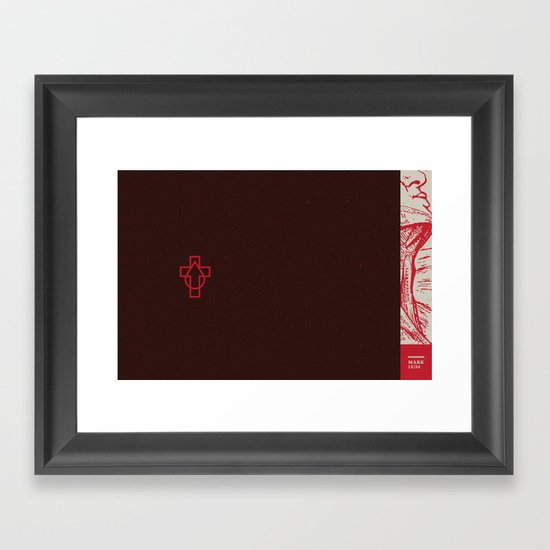 Why  Have You Forsaken Me (by Scott Allen Hill) Framed Art Print
