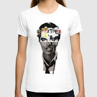 godfather T-shirts featuring Godfather Mix 1 white by Marko Köppe