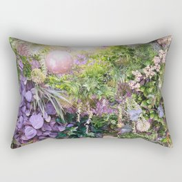 A Florist's Ceiling Garden Rectangular Pillow