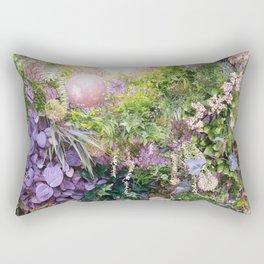 A Florist's Ceiling Garden Rectangular Pillow