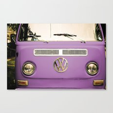 Summer of Love - Radiant Orchid Canvas Print
