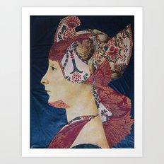 IL ROMANTICO SOMMERSO #3 Art Print