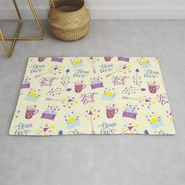 Just Love - Valentine's Day pattern Rug