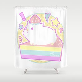 Sweet Hamster Shower Curtain