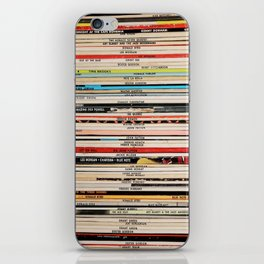 Blue Note Jazz Vinyl Records iPhone Skin