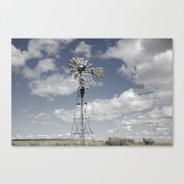 VINTAGE WINDMILL Canvas Print