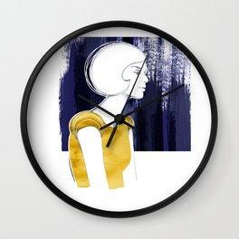 Irma Gold Wall Clock