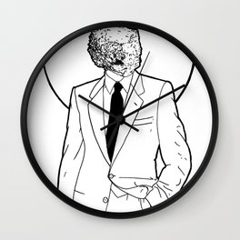 Mineral Man Wall Clock