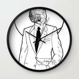 Mineral Man Wall Clock