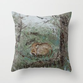 In the Glade Throw Pillow