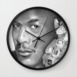 Jordan - Graphite Wall Clock