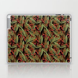 Flowering Gum - Black Laptop & iPad Skin