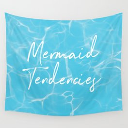 Mermaid Tendencies + Donation for Marine Conservation Wall Tapestry