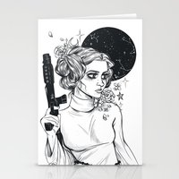 Stationery Cards featuring Trilogy by drinkyourfuckingmilk