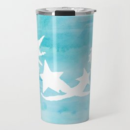 Kingdom Hearts Watercolor Travel Mug