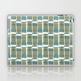 Warrior door Laptop & iPad Skin