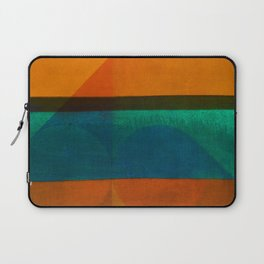 Pedaling in the Beachfront Laptop Sleeve