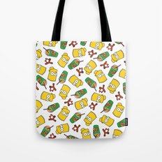 Bart Simpson Icons Tote Bag