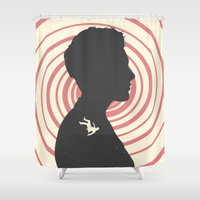 vertigo Shower Curtains featuring Vertigo by Bill Pyle