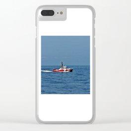Coast Guard Cutter Clear iPhone Case