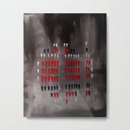Order - Abstract Metal Print