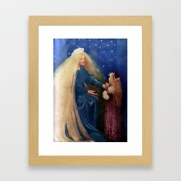 """Princess and the Goblin"" by Jessie Willcox Smith Framed Art Print"