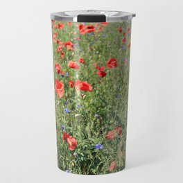 poppy flower no5 Travel Mug